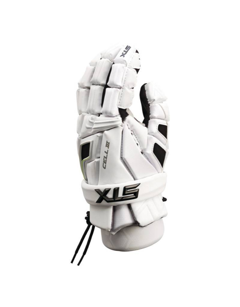 STX STX CELL III GLOVES - WHITE/WHITE,MEDIUM