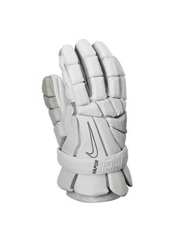 NIKE NIKE VAPOR ELITE GLOVES- WHITE/WHITE , MEDIUM