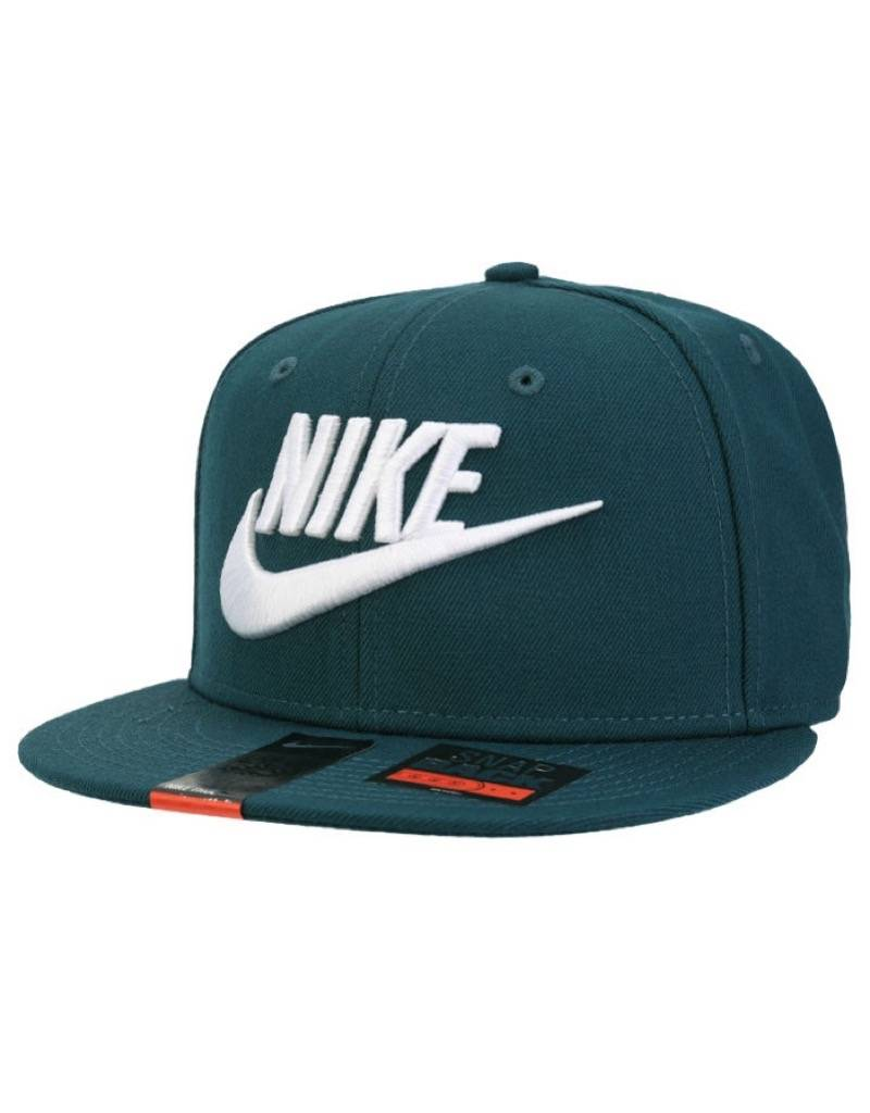 NIKE NIKE FUTURA TRUE 2 HAT, FOREST GREEN, OSFM