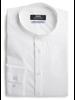 XOOS Men's white shirt officer collar