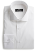 XOOS Chemise homme blanche en nid d'abeille