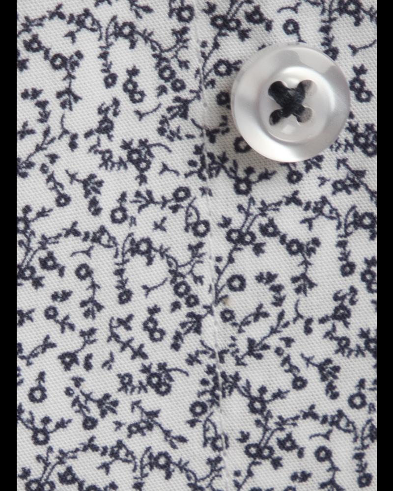 XOOS Chemise homme à motifs imprimés floral bleu