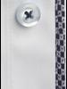 XOOS Chemise homme bleu diamant doublure à motifs tissés navy et gris