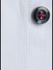 XOOS Chemise homme ciel doublure florale et boutons colorés (Double Retors)