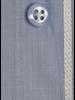 XOOS Chemise homme en fil à fil bleu doublure à micro pois (Double Retors)