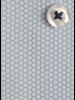 XOOS Chemise homme à motifs imprimés turquoise et galon navy