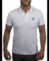XOOS White polo shirt for men