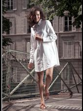 XOOS Celia x XOOS collaboration : White tunic (Organic cotton)