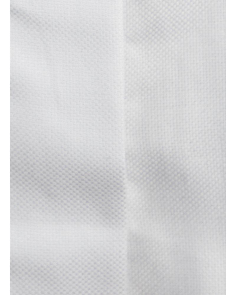XOOS Celia x XOOS collaboration : White crop-top black micro-dots lining