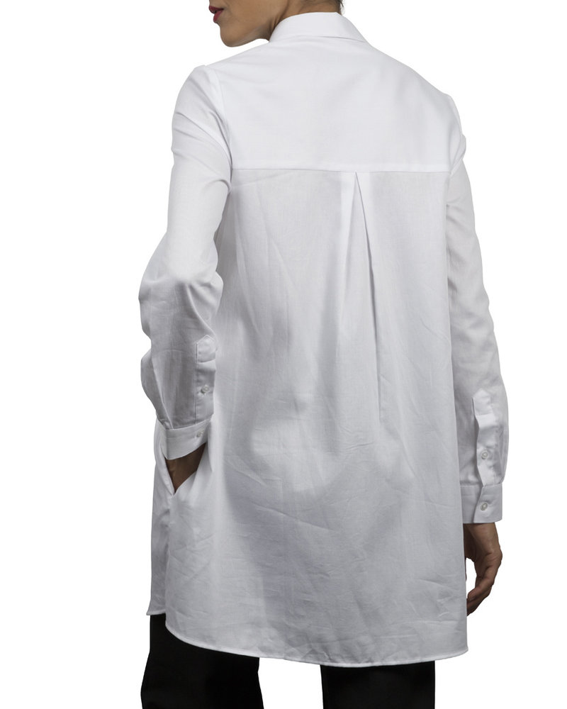 XOOS Celia x XOOS collaboration : White tunic (Organic cotton)