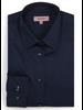 XOOS WOMEN'S navy blue shirt with navy polka dots lining