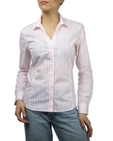 XOOS WOMEN'S pink striped blouse
