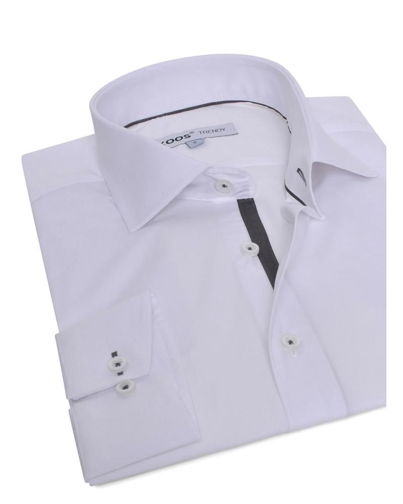 XOOS White shirt (gray lining)