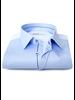 XOOS Chemise homme bleue ciel galon marine