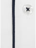 XOOS Men's white dress shirt - Officer collar