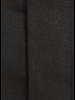 XOOS Chemise homme noire à col cassé et poignets mousquetaire