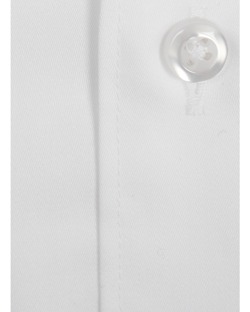 XOOS Men's white french cuffs dress shirt