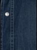 XOOS Men's Denim dress shirt Floral lining