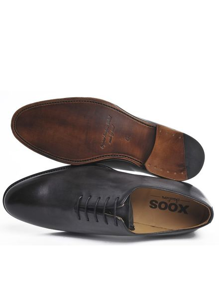 XOOS Dark grey One cut Richelieu XOOS shoes