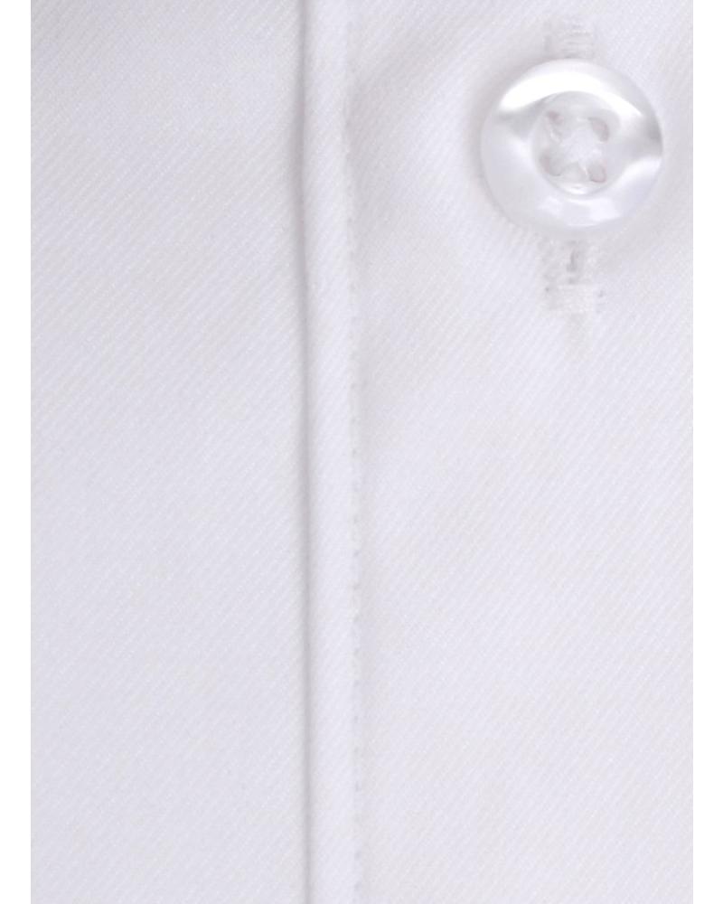 XOOS Chemise blanche fine gabardine Double Retors poignets mousquetaire