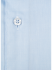 XOOS Men's light blue woven cotton French cuffs dress shirt (Double Twisted)