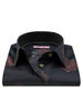 XOOS WOMEN'S black floral printed blouse