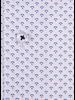 XOOS Men's white dress shirt purple micro pattern prints