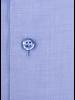 XOOS Men's Light blue fine honeycomb cotton dress shirt (Double Twisted)