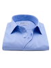 XOOS Men's woven light blue dress shirt (Double Twisted)