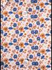 XOOS WOMEN'S orange floral printed dress shirt