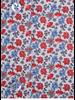 XOOS Chemisier femme à motif floral rouge