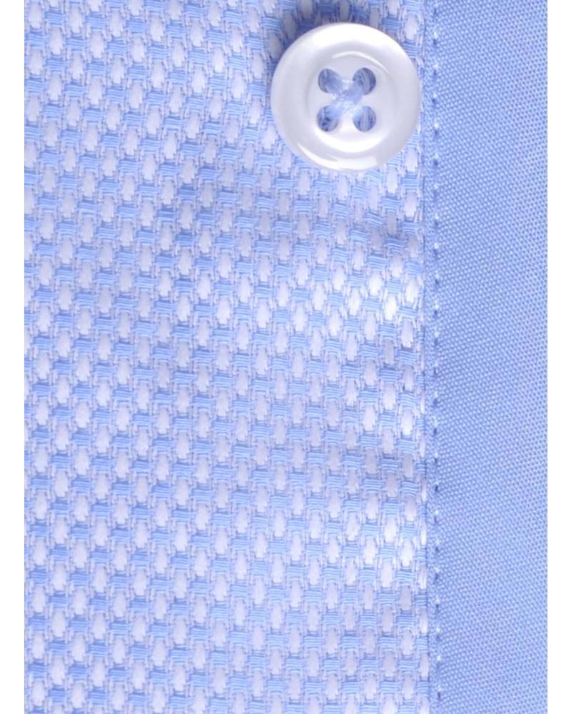 XOOS CLASSIC FIT light blue honeycomb shirt
