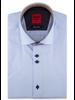 XOOS Men's light blue short sleeve shirt lightblue patterned lining