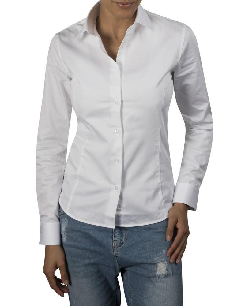 XOOS WOMEN White fitted dress shirt
