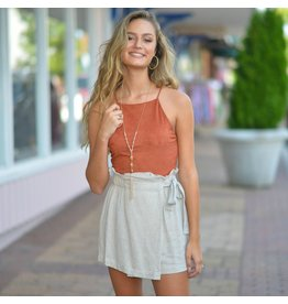 Tops 66 Fall Cool Down Suede Top
