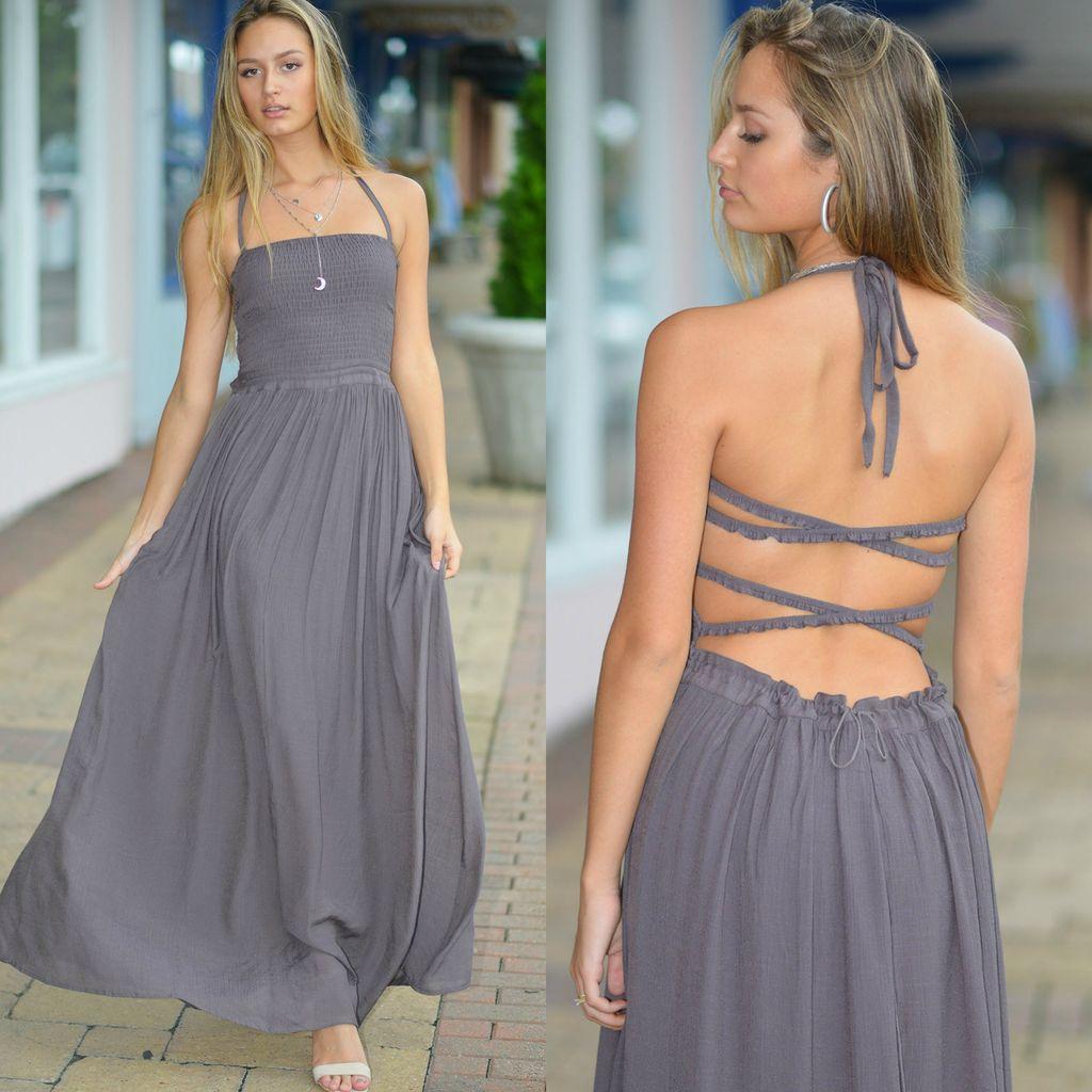 Dresses 22 All Fall Long Dusty Purple Dress