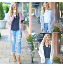 Tops 66 The Snuggle Is Real Chenille Cardigans