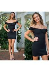 Dresses 22 Night Moves Off Shoulder LBD