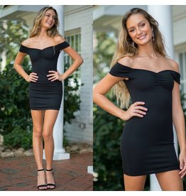 Dresses 22 Night Moves Off Shoulder LBD