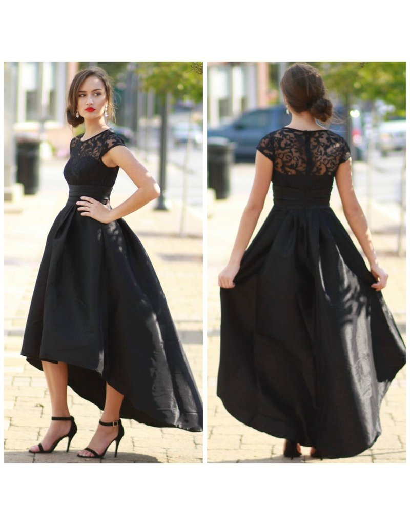 Formalwear Hi-Lo Formal Occasion Dress