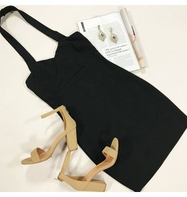 Dresses 22 Haute Halter LBD