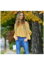 Tops 66 All The Fall Feels Mustard Top