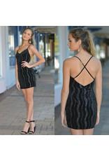 Dresses 22 Live In The Moment Black Velvet Dress