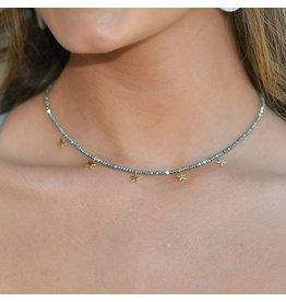 Jewelry 34 Star Charm Bead Choker