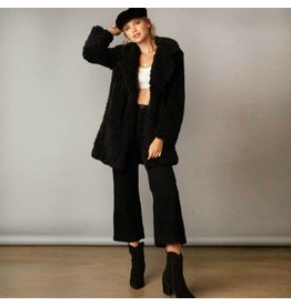 Outerwear Wooly Bully Black Coat