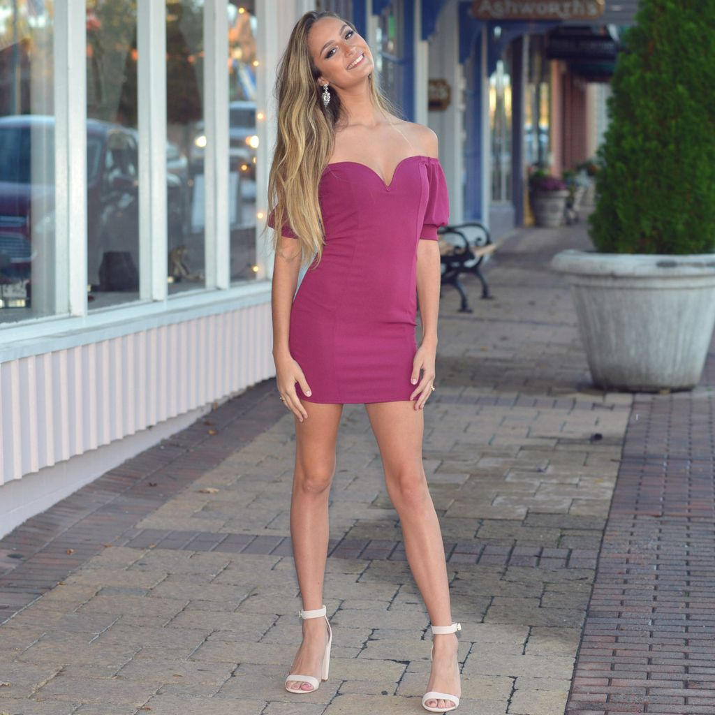 Dresses 22 Party On Berry Dress