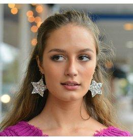 Jewelry 34 Glitter Star Earrings