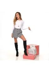 Skirts 62 Holiday Plaid Grey Skirt