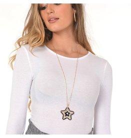 Jewelry 34 Acrylic Star Bead Necklace
