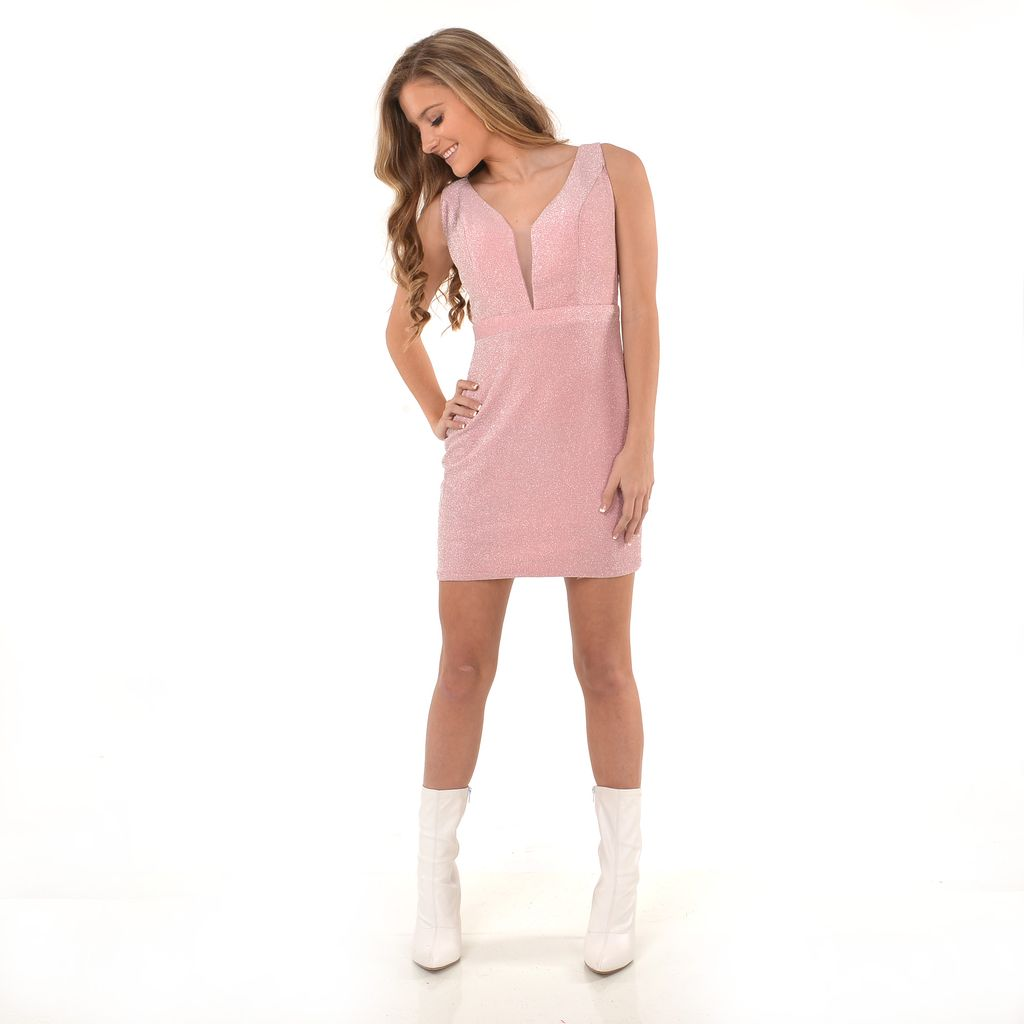Formalwear Shimmer & Shine Pink Party Dress